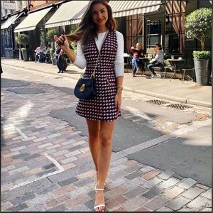 Tweed Chain Dress As seen on Bloggers Buttons